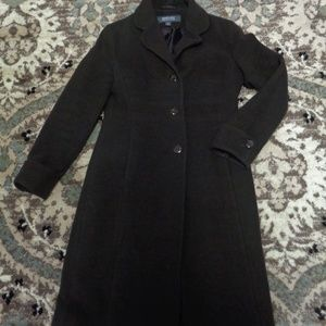 Kenneth Cole Reaction Wool blend Trench coat